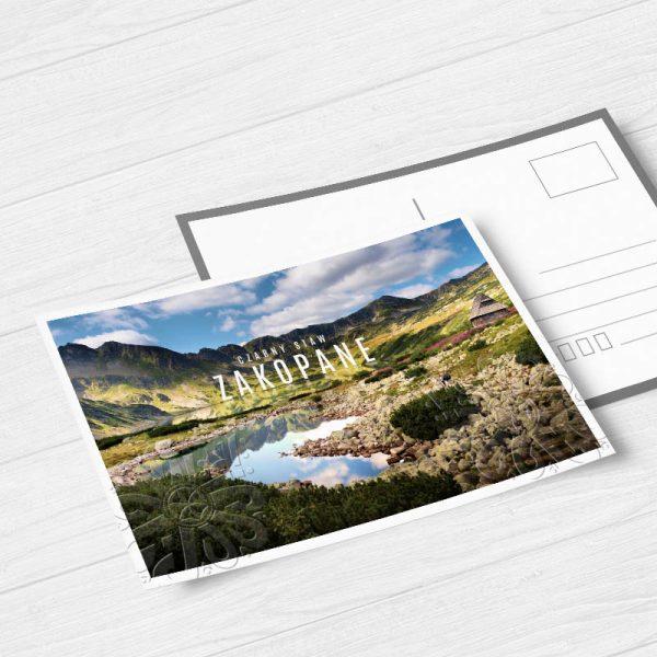 drukowane laminowane pocztówki